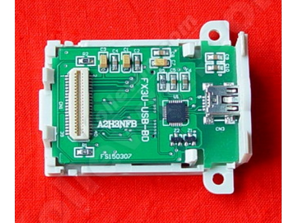 FX3U-USB-BD USB interface Board for FX3U PLC,anti-static electricity & surging protection