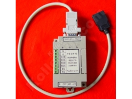 FS-CIF13:equal to Omron CPM1-CIF11/CPM1-CIF12,the Peripheral port and RS232 to RS422/485 interface module for Omron PLC,It can directly use for CS / CJ, CQM1H, CPM2C series PLC