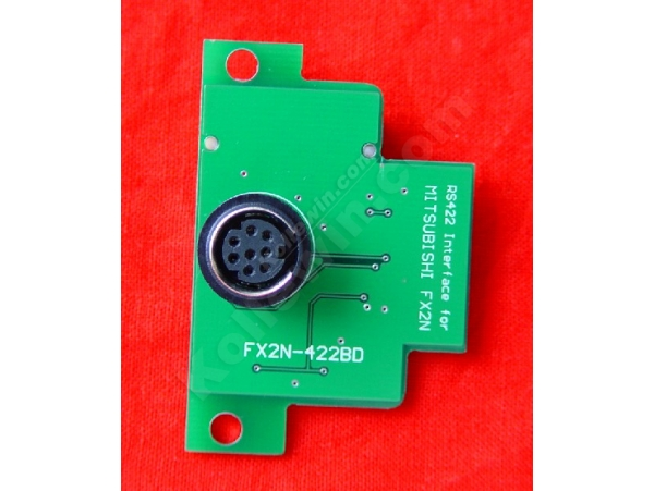 FX2N-422-BD RS422 interface boards for Mitsubishi FX2N, anti-static and anti-surge.